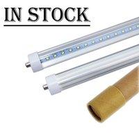 In magazzino 8ft portato tubi 45W 4800 lumen singolo Pin Fa8 T8 LED tubi LED tubo fluorescente lampada di CA 85-265V CE UL FCC