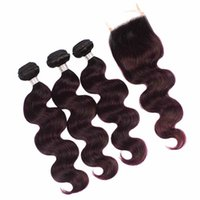 # 1b 135 color Shiningstar 3 Peruvian Body Wave With Closure...