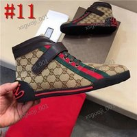 Gucci shoes Hot vender mais nova marca Homens Mulheres Loafers Sneakers G Branco preto de corte baixo Casual Sapatos Outdoor Unisex Zapatillas Designers Shoes