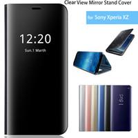 Smart Miroir Cas De Téléphone Pour Xiao mi Mi 10pro 10 Lite Note 10 Pro 9 T Pro 9 lite 9 A3 clair Flip Cas Pour Rouge Mi Note 9 S 8 T 8 7 Pro 9 9A 8 8A 7