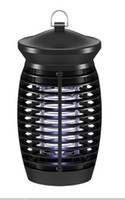 Nuovo elettrico zanzara della mosca Bug Zapper 365nm raggi UVA elettrico zanzara macchina Insetti Killer Lamp