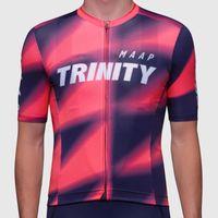 tela MAAP 2020 bicicleta Pro Team bicicletas MTB de manga corta de los hombres del verano de Jersey Nueva transpirable ropa de ciclo de malla