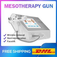 CE certificado necesita para RF mesoterapia pistola cuidado de la piel inyección Meso pistola cuerpo cara ojos aguja conjunto