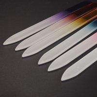 매니큐어 UV 폴란드어 도구에 대한 크리스탈 유리 네일 파일 내구성 크리스탈 파일 네일 버퍼 NailCare의 네일 아트 도구