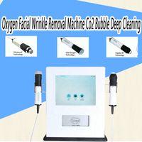 جودة المحمولة الأكسجين آلة إزالة التجاعيد الوجه co2 فقاعة التنظيف العميق rf آلة الجمال بالموجات ل صالون الاستخدام