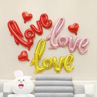 Wholesale 2019 Hot Sale LOVE Letters Helium Balloon Large Si...