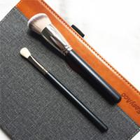 La spazzola sintetica arrotondata per fondotinta inclinata 170 Spazzola sintetica per sfumatura 217s - deve avere una spazzola per viso e per gli occhi