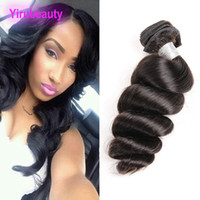 Peruvian Wholesale Mink One Bundle Loose Wave Nataural Color...