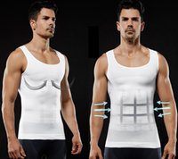 Men' s Slimming Body Shaper Belly Fatty Underwear Vest S...