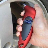 LCD 디지털 타이어 타이어 압력 게이지 테스터 도구 자동차 자동차 오토바이 검색 도구