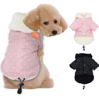De invierno polar ropa para mascotas en Escudo perros de perrito del dogo francés de la ropa del barro amasado Costum