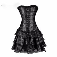 Sexy Steampunk Corsets and Bustiers Burlesque Gothic Lace St...