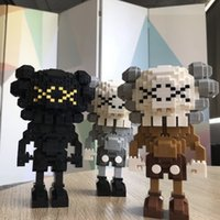 New creative KAWS building blocks chaozhou diamond small par...