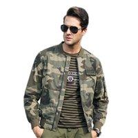 Chaqueta Hombre Ropa Camuflaje Chaquetas y abrigos militares Hombre Ropa de abrigo delgada Hip Hop Chaqueta bomber Camo Hombre Talla M-3XL