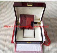 2021 سوبر الجودة Topselling صناديق حمراء Nautilus الأصلي مربع الأوراق بطاقة الخشب بولاية حقيبة يد ل أكواندووت 5711 5712 5990 5980