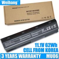 Weihang Coréia Bateria Para HP Pavilion G4 G6 G7 G32 G42 G32 G62 G72 CQ32 CQ32 CQ43 CQ53 CQ56 CQ72 DMQ MU06 593553-001