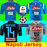 Thailand 2018 2019 Serie A Naples New SSC Napoli soccer jers...