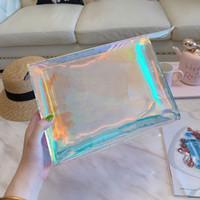 Dazzle Uomini frizione Laser Flash PVC Frizioni Borse trasparente borsone Brilliant Color Borse Bag
