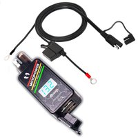 MOTOPOWER MP0620 4. 2Amp Motorfiets Dual USB Charger Kit SAE ...