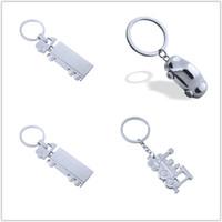 10 PC를 3D 자동차 모양의 열쇠 고리 기차 키 체인 지하철 열쇠 고리 고속 열차 열쇠 고리 F1 경주 자동차 키 체인 금속 트럭 키 체인
