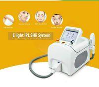 2020 Prezzo di fabbrica SHR + OPT + IPL dei capelli della E-Luce Removal ringiovanimento della pelle RF Laser Machine Apparecchiatura di bellezza con un manico