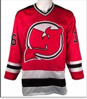 femmes hommes sur mesure jeunesse # Vintage 36 C.R.E.A.M. CRÈME Chambers tueuses Bees DEVILS Hockey Jersey Taille S-5XL ou sur mesure un nom ou un numéro