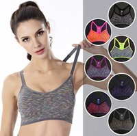 Women Sports Bras Fitness Sports Bra Top Shockproof Shapes Q...