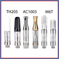 Wickless Vertical Ceramic Coil Vape Cartridges Glass Atomize...