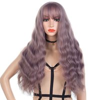 Thin Vine Color Women Long Body Wave Wig Popular Temperament...