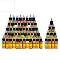 Profesyonel 16 renk kümesi Dövme Mürekkep Pigment için Beden Sanatı Dövme renk Kozmetik Kalıcı Dövme Pigment Boya