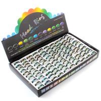 Epack livraison gratuite 100pcs mode bague de changement de couleur anneaux taille 16 17 18 19 20 en acier inoxydable