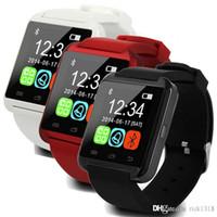 U8 montre smart watch SmartWatch Montres avec Altimètre et moteur pour iPhone 7 6 6S plus Samsung S8 Pluls bord S7 Android d'Apple Cell Phone US