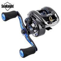 Seaknight الجنية مكافحة -Corrosion بكرة بكرة 7 0.6: 1 السامي سرعة 12bb 5KG الصيد بكرة شبوط صيد السمك لصيد السمك في المياه المالحة