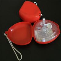 الإسعافات الأولية cpr قناع التنفس حماية رجال الانقاذ التنفس الاصطناعي الإسعافات الأولية cpr قناع التنفس أحادي الاتجاه صمام أدوات