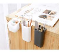 Titolare creativa Pasteable penna per il desktop Scatole scrivania matita della penna organizzatore dell'ufficio Sundries titolari bagagli Scuola di cancelleria