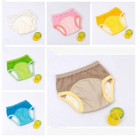 Unisex Training Pants Panties Baby Washable Breathable Mesh Nappy Diaper Reusable Cover Wrap Suits Birth Potty Nappy Inserts 6M-6Y TLZYQ979