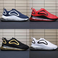Nike air max 720 Men shoes Sunrise Team Crimson Northern Lights Total Eclipse Sea Forest scarpe da ginnastica da uomo TPU Sneakers sportive Eur 40-45