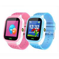 W16 Reloj inteligente para niños Anti Lost Child Tracker SOS Seguimiento de posicionamiento Teléfono inteligente Reloj para niños Impermeable Deporte Pulsera inteligente
