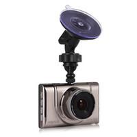 Anytek A100 + نوفاتيك 96650 3.0inch شاشة 170 درجة واسعة زاوية الكاميرا سيارة 1920 * 1080P داش كاميرا متعدد اللغات سيارة DVR - براون