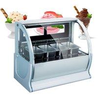 220 В высокое качество мороженого морозильник коммерческий морозильник размораживание мороженое витрина для мороженого франчайзинг магазин
