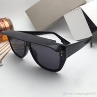 Top Quality Mens óculos de sol para mulheres homens óculos de sol estilo de moda protege os olhos UV400 lente com caso 321