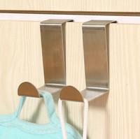 Дверные вешалки для одежды Вешалки для командных вещей Вешалки для одежды из нержавеющей стали