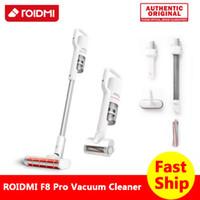 Youpin ROIDMI F8 Pro Aspirateur sans fil blanc Or Rose 6 en 1 multi-fonction Cyclone Moquette voiture Accueil Aspirer