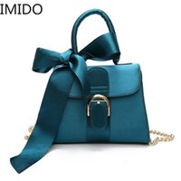 IMIDO 2019 New Fashion Butterfly Knotting Handheld Crossbody...