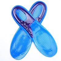 No. 33 ~ 50 zapatos utilizan gel antideslizante de silicona calzado deportivo masaje suave de plantilla libre de poste unisex