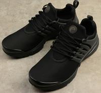 Presto Blackout Mens Running Shoes Ultra BR QS presti triple nero all'aperto da jogging Scarpe da ginnastica Sport Sneakers formato Stati Uniti 5.5-12