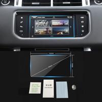 Per Range Rover Sport 2010-2020 Velare 2017-2020 Evoque 2020 Auto Auto Navigazione GPS Monitor Schermo Protettivo Vetro Pellicola Vetro Sticker
