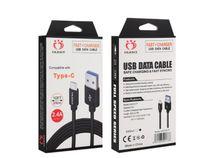 삼성 화웨이 HTC LG 패키지에 대한 Olesit 2M 6.6 피트 3M 10 피트 3.1A 빠른 충전기 마이크로 USB 케이블 데이터 타입 C 케이블