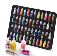 Mee_You 48 Color Glass Bottle Nail Jewelry Glitter Glitter Lentejuelas Caviar Nail Ornament Set Nail Art Decoration MY0003