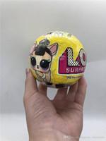 10CM Serie di palline in PVC per animali domestici Kawaii Giocattoli per bambini Anime Action Figures Realistici bambole rinate Regalo per ragazze
